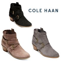 Cole Haan Suede Ankle & Booties Boots