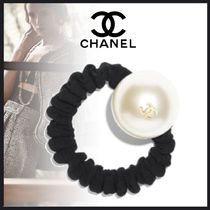CHANEL Costume Jewelry Casual Style Elegant Style Hair Accessories