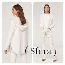Sfera Casual Style Long Sleeves Medium Cardigans