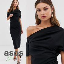 ASOS Tight Plain Medium Elegant Style Dresses