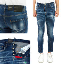 D SQUARED2 Street Style Plain Cotton Jeans & Denim