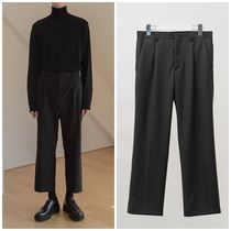 HI FI FNK Unisex Plain Cropped Pants