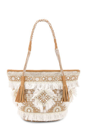 Casual Style Fringes Totes