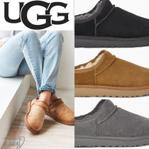 UGG Australia CLASSIC SLIPPER Casual Style Suede Slip-On Shoes