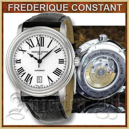 FREDERIQUE CONSTANT Analog Unisex Blended Fabrics Mechanical Watch Analog Watches