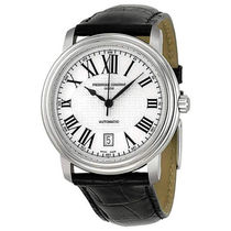 FREDERIQUE CONSTANT Unisex Blended Fabrics Mechanical Watch Analog Watches
