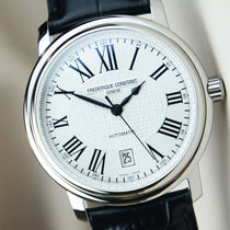 FREDERIQUE CONSTANT Analog Unisex Blended Fabrics Mechanical Watch Analog Watches 5