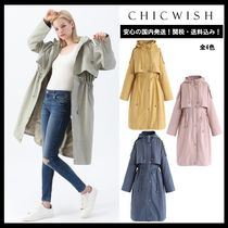 Chicwish Casual Style Long Trench Coats