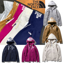 THE NORTH FACE Long Sleeves Plain Cotton Hoodies & Sweatshirts