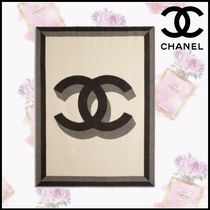 CHANEL Blended Fabrics Throws
