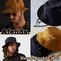 AFENDS Unisex Street Style Wide-brimmed Hats