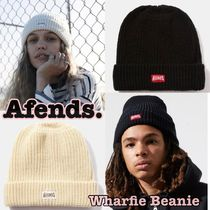 AFENDS Unisex Street Style Knit Hats