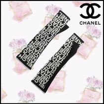 CHANEL Cashmere Blended Fabrics Smartphone Use Gloves