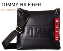 Tommy Hilfiger Casual Style Unisex Street Style Plain Shoulder Bags