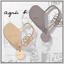 Agnes b Heart Keychains & Bag Charms
