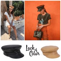 lack of color Blended Fabrics Hats & Hair Accessories