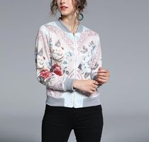 Flower Patterns Medium MA-1 Varsity Jackets