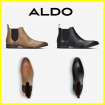 ALDO Plain Leather Chelsea Boots Oxfords