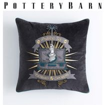 Pottery Barn Unisex Collaboration Fringes Characters Decorative Pillows