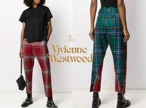 Vivienne Westwood Other Check Patterns Casual Style Cropped & Capris Pants