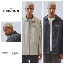 FEAR OF GOD ESSENTIALS Unisex Nylon Street Style Jackets