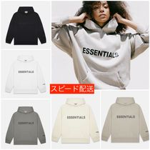 FEAR OF GOD ESSENTIALS Pullovers Unisex Sweat Street Style Oversized Logo Hoodies