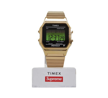 Supreme Street Style Collaboration Digital Watches