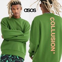 ASOS Crew Neck Sweat Street Style Long Sleeves Sweatshirts
