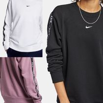 Nike Short Sweat Street Style Long Sleeves Cropped