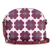 kate spade new york Flower Patterns Casual Style PVC Clothing Shoulder Bags