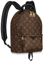 Louis Vuitton Monogram Canvas Blended Fabrics 2WAY Elegant Style Backpacks