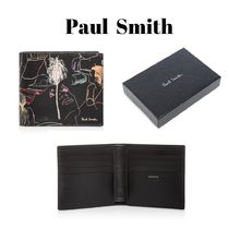 Paul Smith Calfskin Leather Folding Wallets