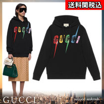 GUCCI Blended Fabrics Street Style Long Sleeves Plain Cotton