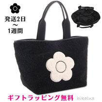 MARY QUANT Flower Patterns Casual Style A4 Totes