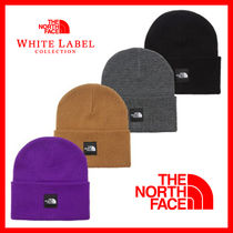 THE NORTH FACE WHITE LABEL Unisex Street Style Knit Hats