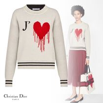 Christian Dior Casual Style Cashmere Cashmere