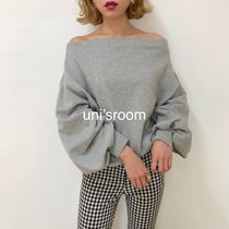Plain Cotton Medium Oversized Puff Sleeves