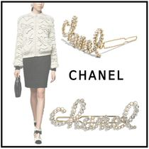 CHANEL 2019-20AW HAIR ACCESSORY gold hair accessories
