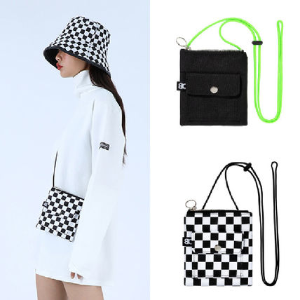 Other Check Patterns Casual Style Unisex Street Style Plain