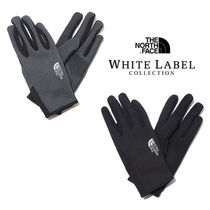 THE NORTH FACE WHITE LABEL Unisex Plain Logo Gloves Gloves