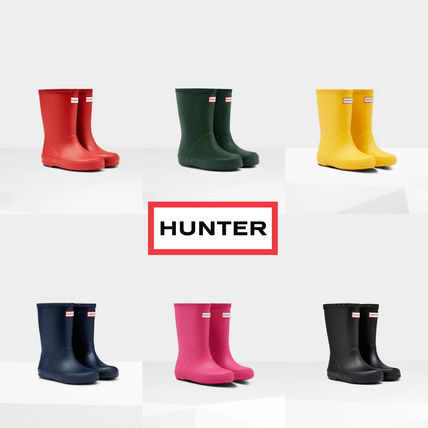 HUNTER Kids Girl Rain Shoes