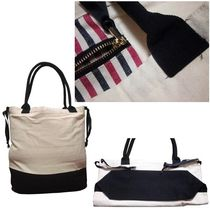 Bag all Unisex Canvas Street Style A4 Shoppers