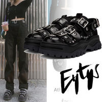 Eytys Street Style Plain Leather Sneakers