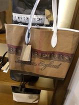 Burberry London Casual Style Totes