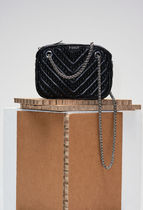 CLAUDIE PIERLOT Lambskin Studded 3WAY Chain Shoulder Bags