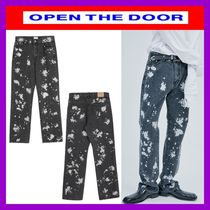 OPEN THE DOOR Street Style Cotton Pants