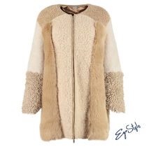 Stella McCartney Cashmere & Fur Coats