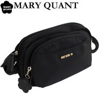 MARY QUANT Casual Style Nylon Plain Shoulder Bags