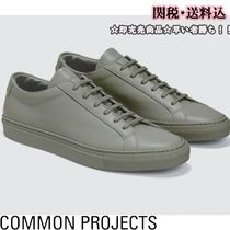 Common Projects Unisex Street Style Plain Sneakers