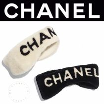 CHANEL ICON Casual Style Blended Fabrics Street Style Handmade